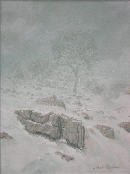 Snowing OnOldCummingsValleyRd